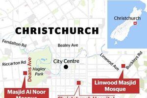 Xả súng điên cuồng tại nhà thờ New Zealand, hơn 50 người thương vong