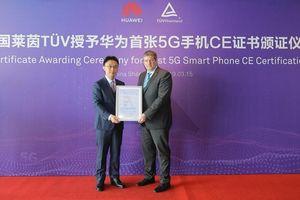HUAWEI Mate X được trao chứng nhận 5G CE đầu tiên trên thế giới