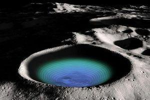 Phát hiện nước trên mặt trăng di chuyển 'kỳ lạ'