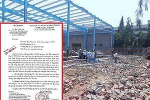 Vụ sập công trình đang xây dựng khiến 6 người tử vong, 2 người bị thương: Bộ xây dựng ra chỉ đạo khẩn