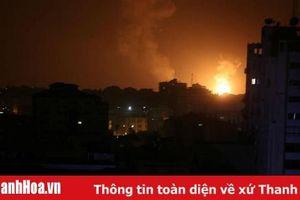 Israel không kích Dải Gaza sau khi bị tên lửa bắn vào Tel Aviv