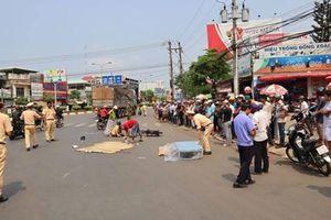 Va chạm với xe tải, nữ sinh chết thảm trên đường tới trường