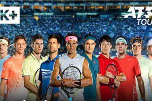 Sau bóng đá, K+ tiếp tục độc quyền giải quần vợt