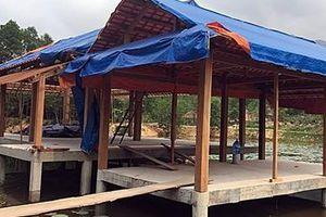 Cưỡng chế phá dỡ các hạng mục xây dựng trái phép tại Quảng Nam