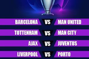 Man Utd đụng Barca, nội chiến Tottenham - ManCity