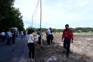 Tự treo bảng bán đất tại Đồng Nai khi chưa được cấp phép
