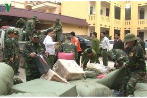 Lạng Sơn thu giữ khối lượng lớn hàng tiêu dùng nhập lậu