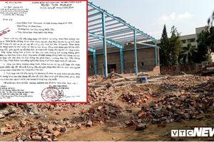 Sập tường khiến 8 người thương vong ở Vĩnh Long: Bộ Xây dựng chỉ đạo khẩn