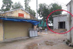 Doanh nghiệp xây chợ trái phép ở Hà Tĩnh: Huyện chỉ đạo tháo dỡ