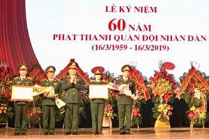 Kỷ niệm 60 năm Chương trình Phát thanh quân đội nhân dân