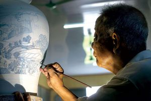Bà tổ nghề làng gốm Chu Đậu: Rạng danh Việt Nam