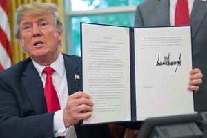Tổng thống Trump phủ quyết dự luật ngăn chặn tuyên bố tình trạng khẩn quốc gia