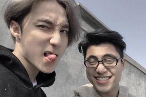 Chụp góc nghiêng, em trai Sơn Tùng khiến fan bất ngờ vì giống anh trai