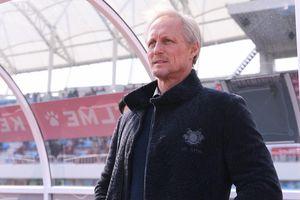 HLV Incheon thất vọng khi học trò bỏ lỡ cơ hội ghi bàn