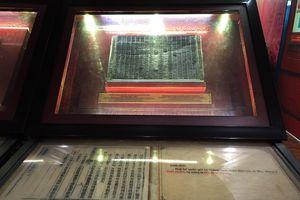 Triển lãm 'Quốc hiệu và Kinh đô nước Việt trong Mộc bản Triều Nguyễn – Di sản tư liệu Thế giới'