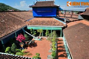 Kiến trúc kỳ lạ của Nhà Lớn Long Sơn đẹp nhất trời Nam