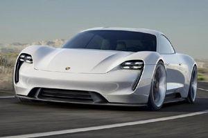 Lộ diện bản phác thảo chính thức Porsche Taycan