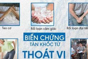 Có đến 30% dân số Việt Nam mắc thoát vị đĩa đệm
