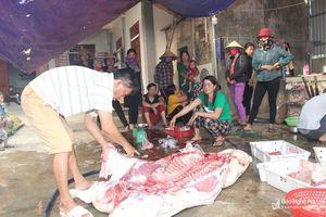 Người dân Nghệ An tìm lợn sạch để sử dụng