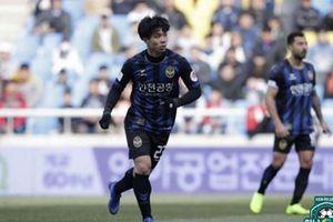 Công Phượng để lại dấu ấn, Incheon United vẫn nhận thất bại