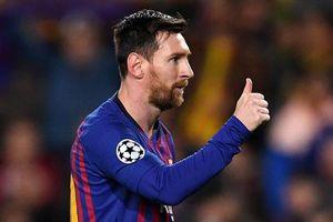 Messi là hung thần của M.U và các CLB Anh