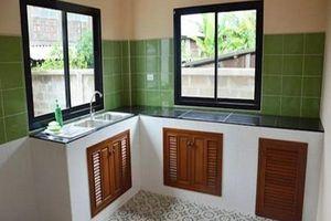 Nội thất nhà đẹp với các kiểu thiết kế nhà bếp 'nhẹ túi tiền'