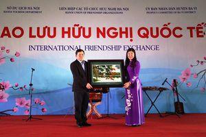 Hà Nội tổ chức Giao lưu hữu nghị quốc tế 2019