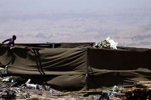 Ethiopia Airlines gửi đất để gia đình nạn nhân rơi máy bay an táng
