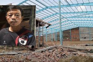 Sập tường khiến 8 người thương vong ở Vĩnh Long: Chiếc máy cắt sắt cứu mạng người đàn ông