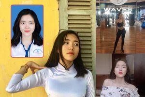 'Hot girl ảnh thẻ' Thanh Hóa xinh đẹp, học giỏi, hát hay, mê võ thuật
