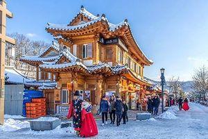 Trải nghiệm mùa đông Seoul