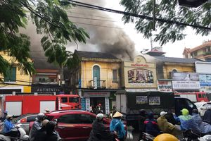 Cháy lớn tại khách sạn, nữ nhân viên tử vong