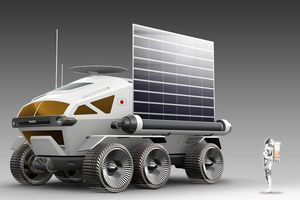 Xe Toyota sẽ off-road trên Mặt Trăng?