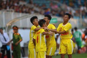 Đánh bại U19 HAGL, 'đàn em' Quang Hải lần thứ 5 vô địch U19 QG