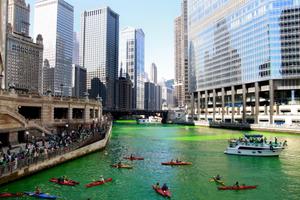 10 thành phố trên thế giới đón ngày lễ Thánh Patrick
