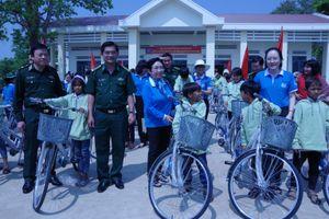 'Đồng hành cùng phụ nữ biên cương' tại các huyện biên giới Gia Lai
