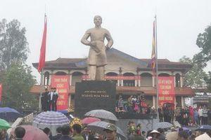 Bắc Giang: Lễ hội Yên Thế tưởng nhớ người anh hùng Hoàng Hoa Thám