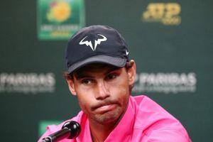 Chấn thương đầu gối, Nadal bỏ cuộc trong trận bán kết với Federer