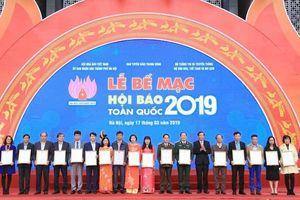 Báo nhận 4 giải thưởng tại Hội Báo toàn quốc 2019