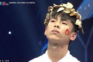 Nam sinh Ninh Bình giành vòng nguyệt quế Olympia