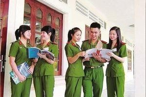Thí sinh ở Hòa Bình trúng tuyển các trường công an đều đã nhập học