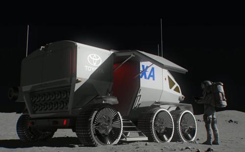 Toyota sẽ chế tạo xe du hành mặt trăng cho Nhật Bản