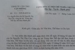 UBND TP. Cần Thơ chỉ đạo làm rõ việc HLV Điền kinh bị loại khỏi Ban huấn luyện