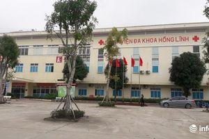 Giám đốc BV lên tiếng vụ bệnh nhân mổ ruột thừa và bị thắt vòi trứng ở Hà Tĩnh