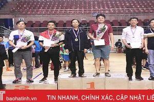 Điện lực Hà Tĩnh vô địch quần vợt nam hội thao Điện lực phía Nam