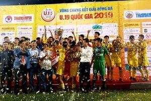 Thắng tối thiểu HAGL, Hà Nội lần thứ năm đoạt chức vô địch U.19 Quốc gia