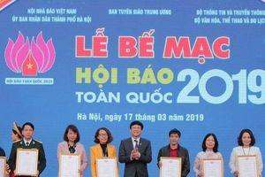 Bế mạc Hội Báo toàn quốc 2019: Văn hóa tinh thần của những người làm báo