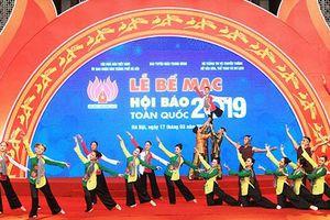 Báo Thanh tra đạt giải B gian trưng bày tại Hội Báo toàn quốc 2019