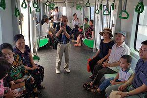 Thỏa thích đi miễn phí nửa tháng tàu trên cao Cát Linh - Hà Đông