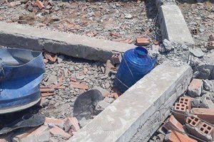 Dừng thi công công trình vụ sập tường khiến 6 người chết ở Vĩnh Long